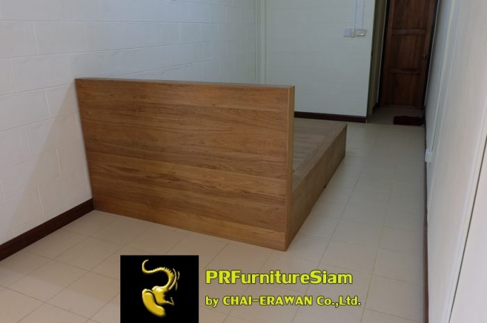 B32-Teak Bed with 5 Drawers (12)