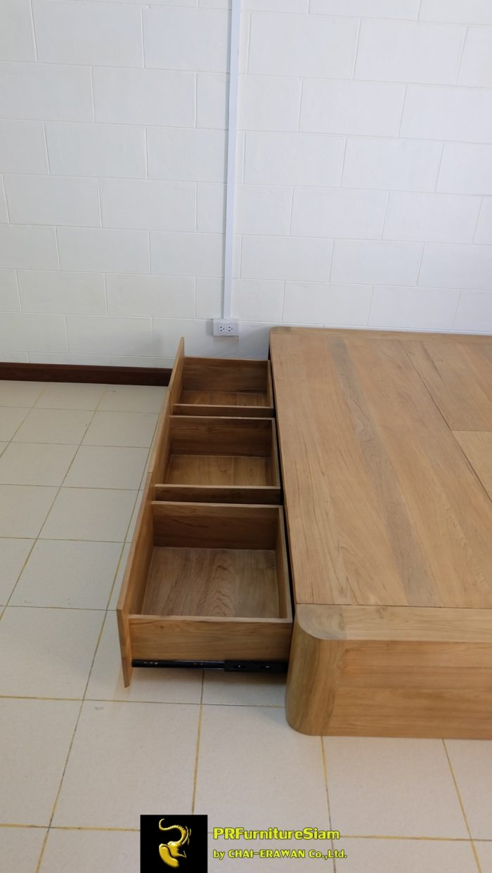 B32-Teak Bed with 5 Drawers (27)