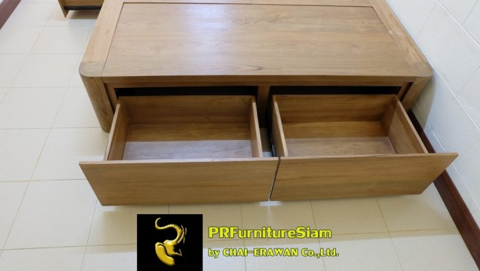 B32-Teak Bed with 5 Drawers (5)