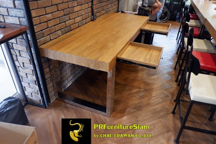 Office Decorate with Modern Wood Furniture 1 Khun Tee (16)