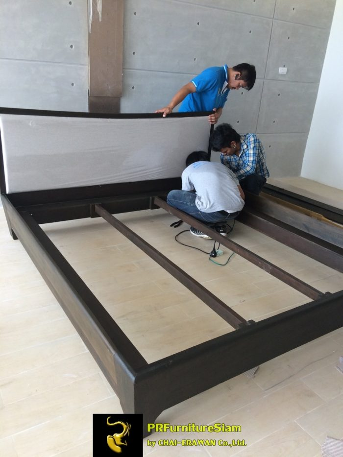 Rayong Serepha Solid Wood Bed Installation (16)
