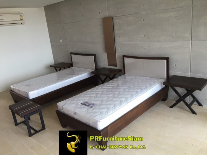Rayong Serepha Solid Wood Bed Installation (23)
